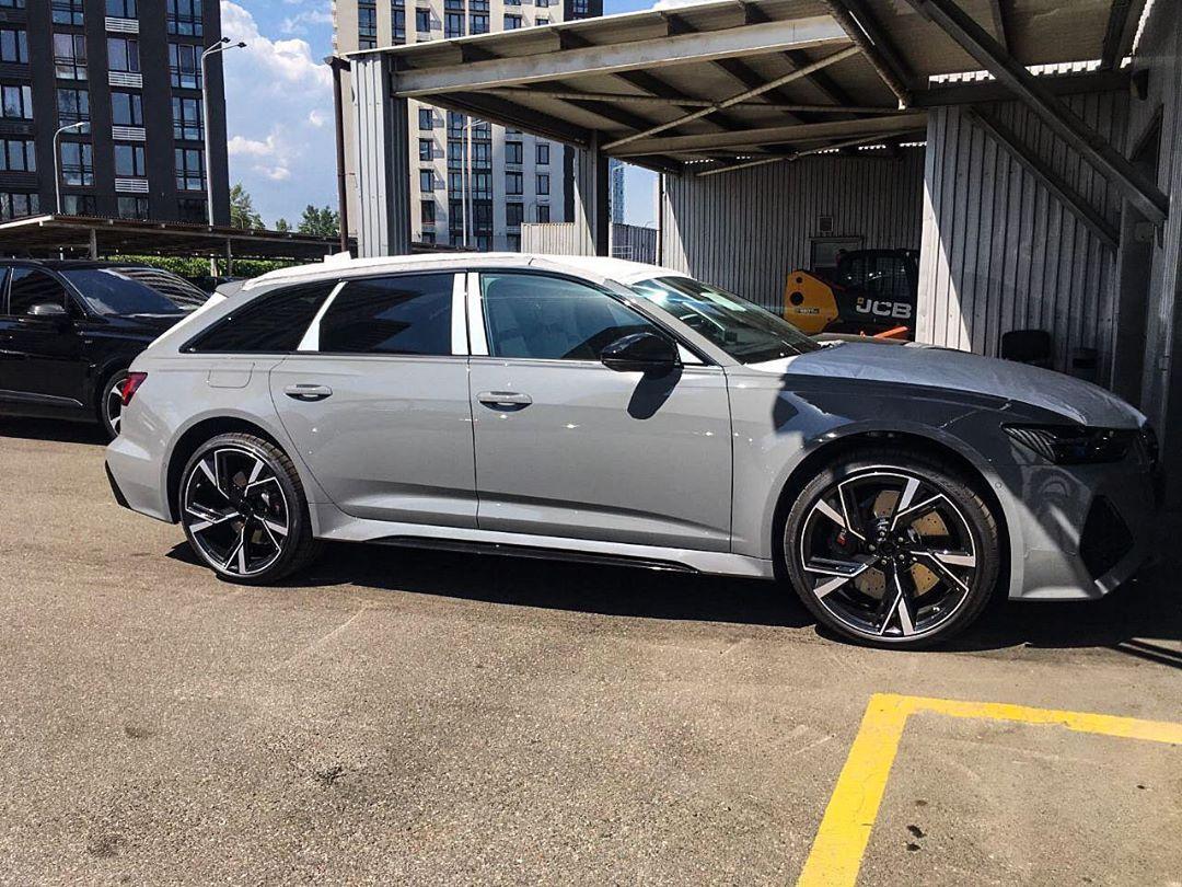 В Украине засняли новейший заряженный универсал Audi RS6