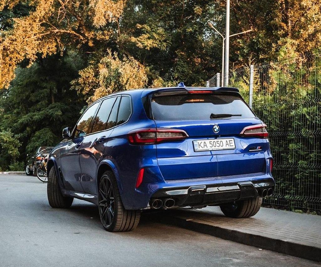 В Украине засняли новый BMW X5 M 2020 - Обзор