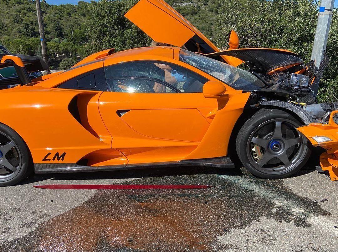 Пилот Формулы-1 разбил редчайший суперкар McLaren