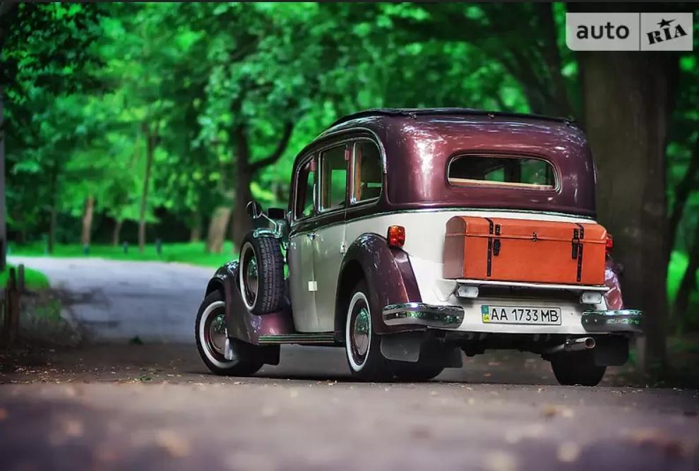 Украинец продает редчайший 80-летний немецкий лимузин