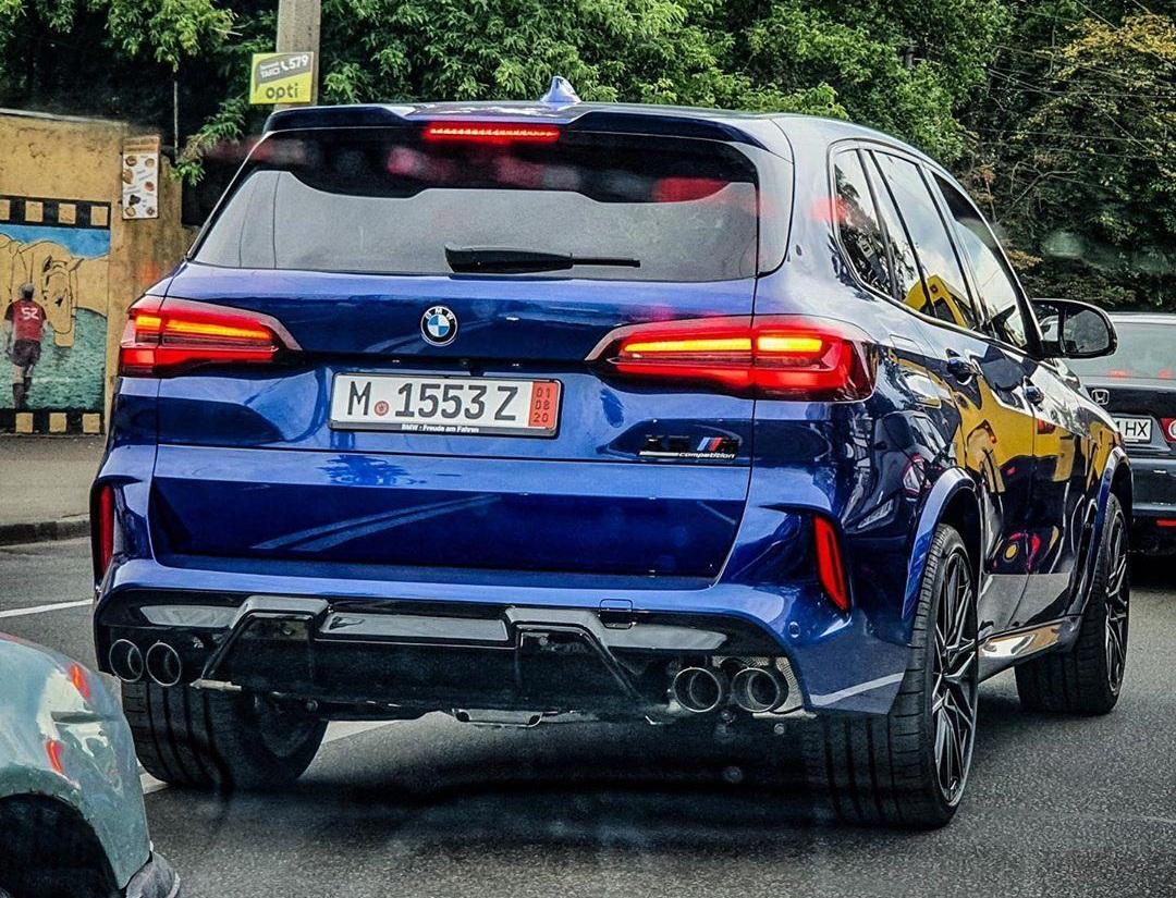 В Украине появился новейший BMW X5 M 2020
