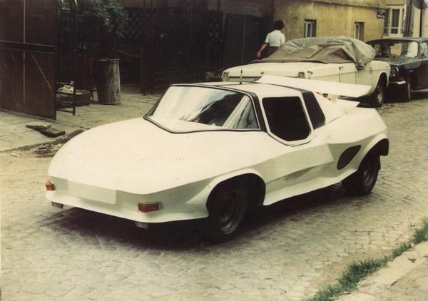 Уникальный болгарский спорткар, о котором никто не знал
