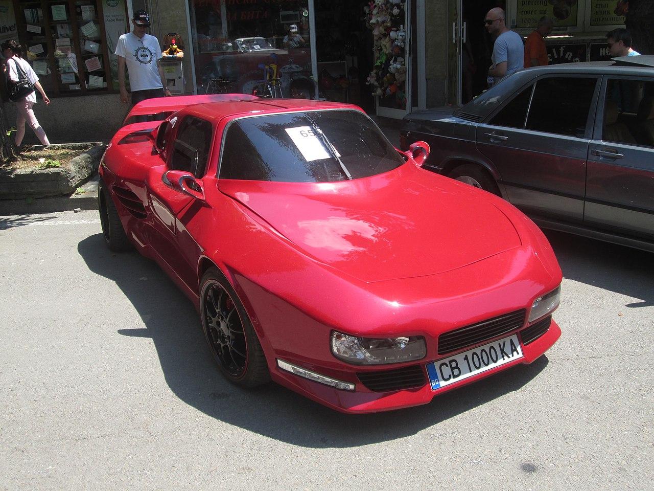 Что представляет собой уникальный болгарский спорткар, о котором никто не знал