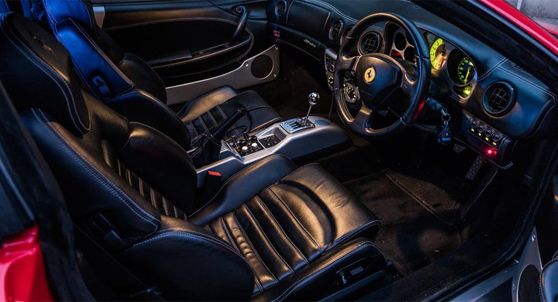 На продажу выставили уникальный лимузин Ferrari