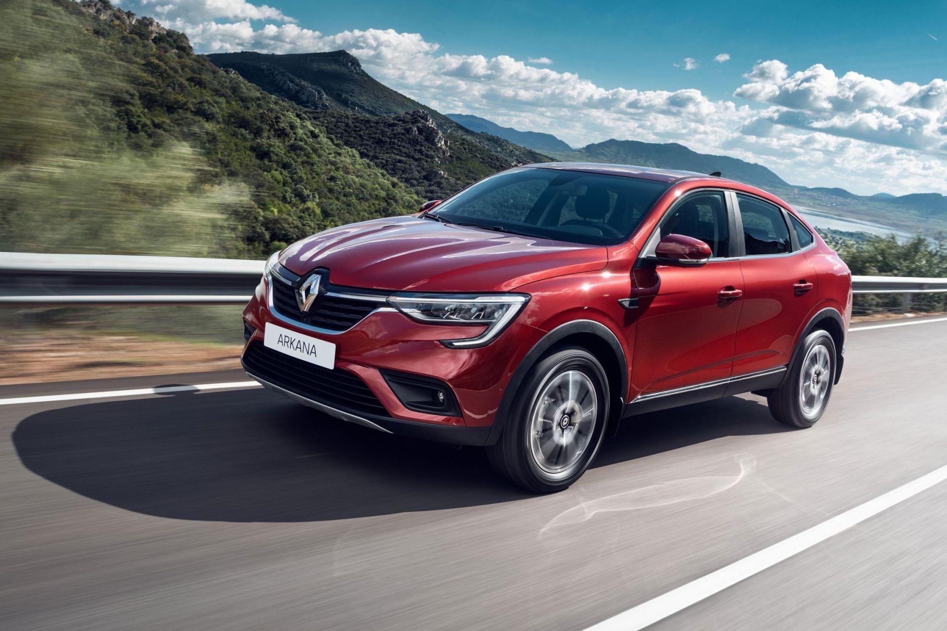 Стала известна цена кроссовера Renault Arkana украинской сборки