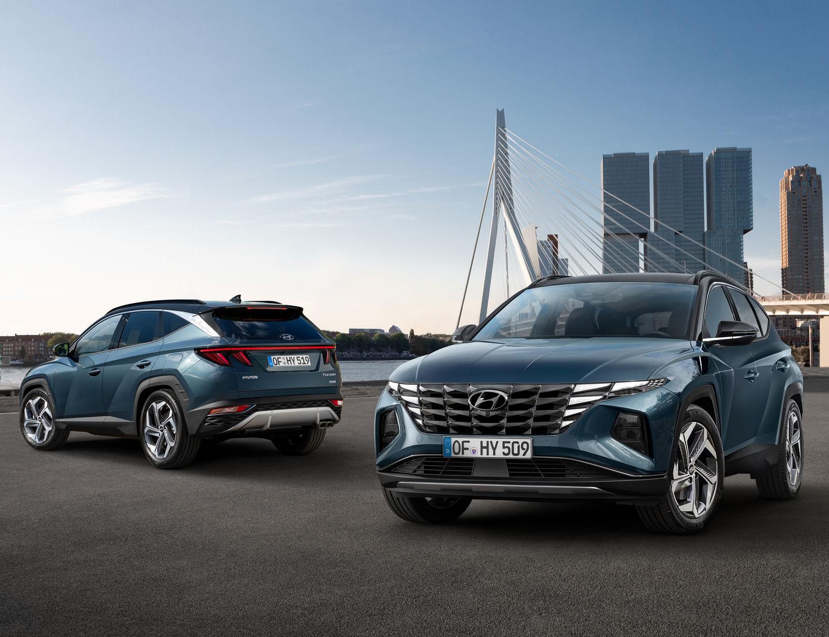 Новый Hyundai Tucson стал симбиозом Lamborghini Urus и Lexus UX