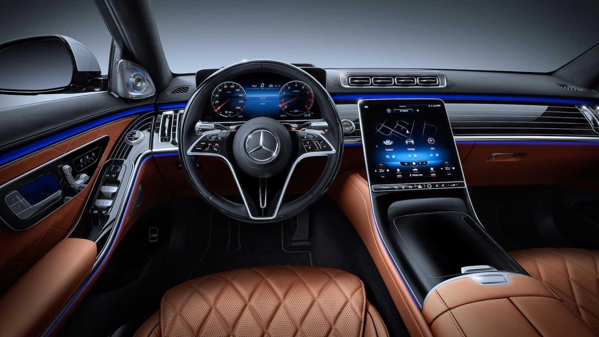 Новый Mercedes S-Class W223 полностью рассекречен
