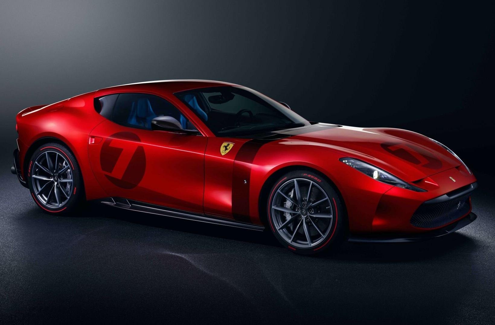 Ferrari показали уникальный суперкар в ретро-стиле