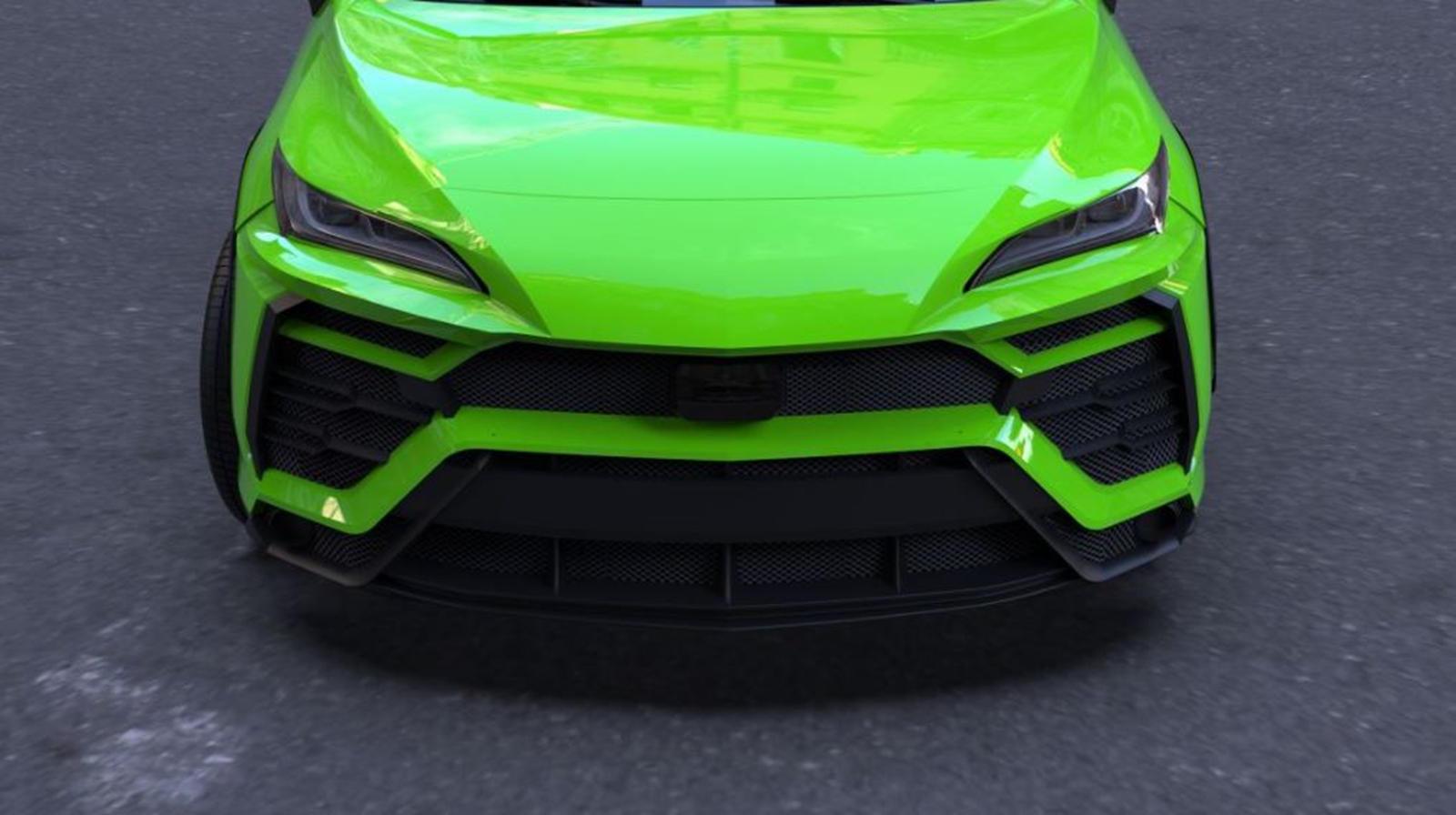 Новейший кроссовер Toyota превратили в Lamborghini Urus