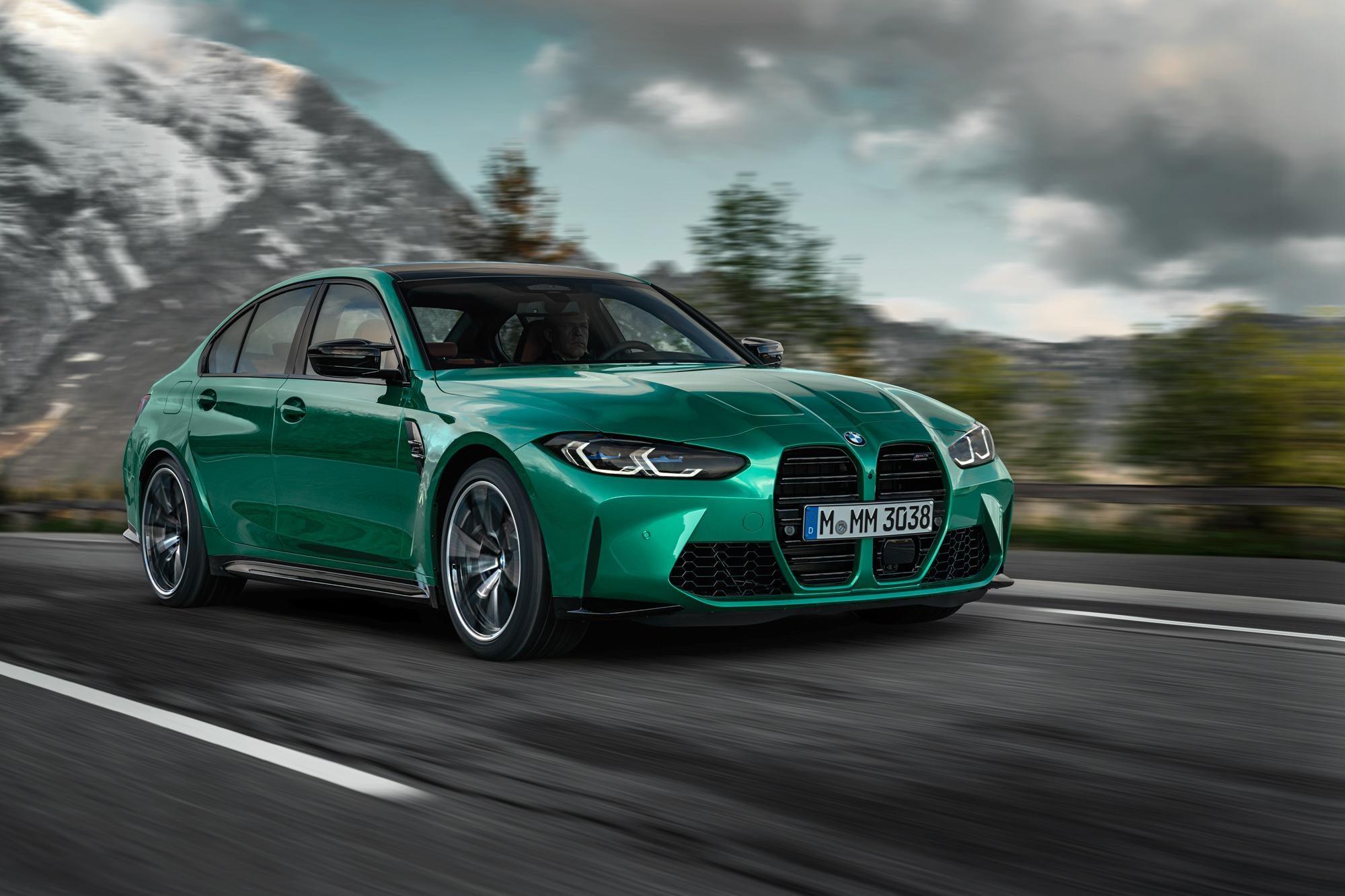 Первые фото новых BMW M3 и M4