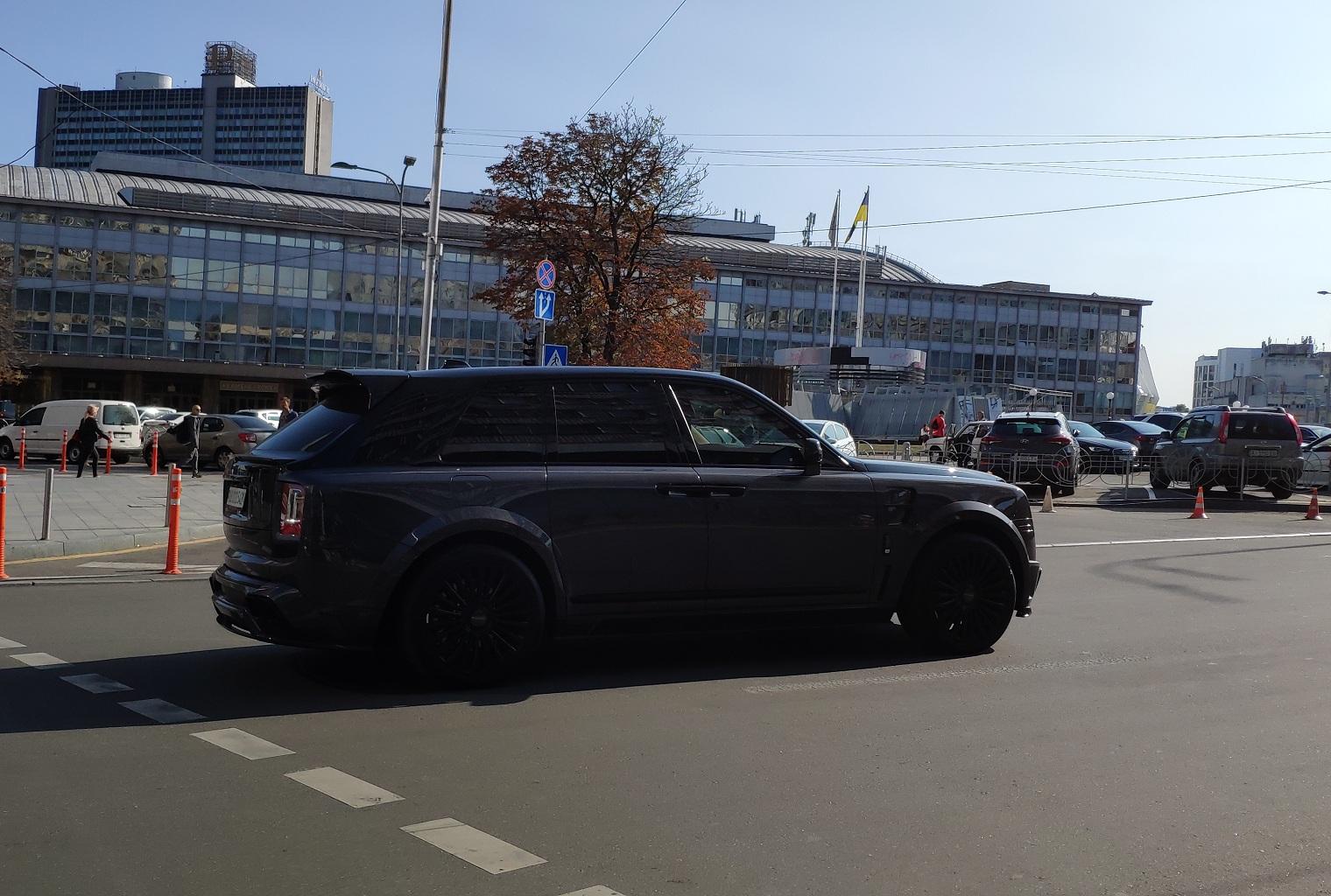 Назван самый дорогой автомобиль в Украине по итогам 2020 года