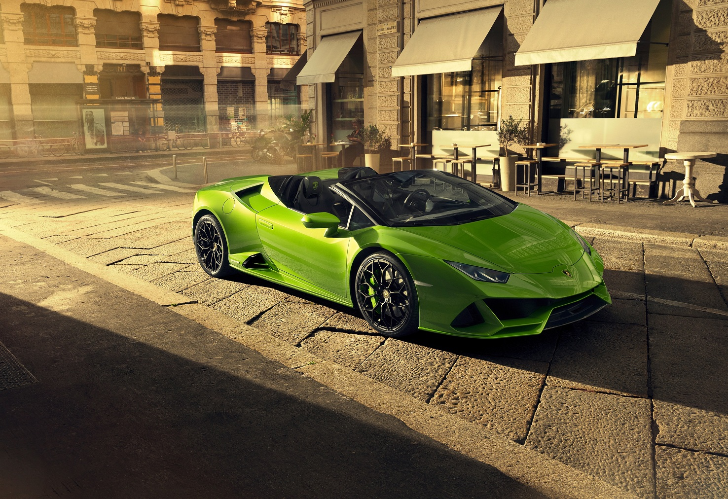 В Украине появился новейший суперкар Lamborghini
