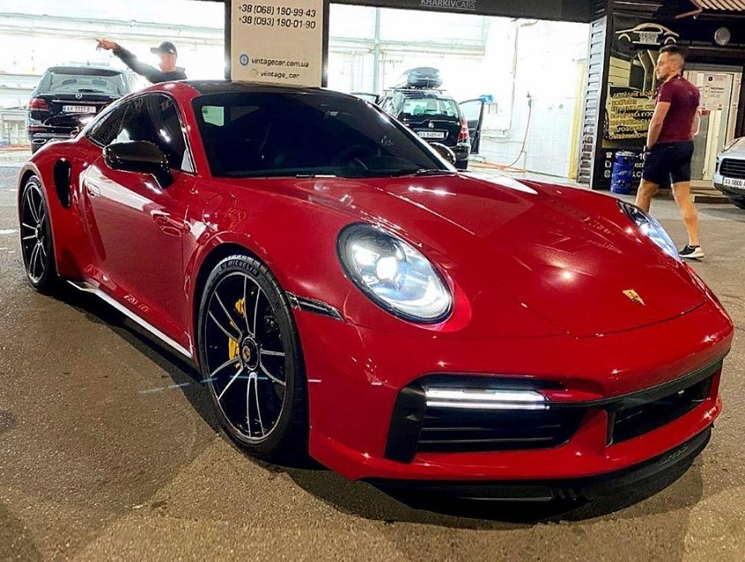 В Украине появился новый Porsche 911 Turbo 2020