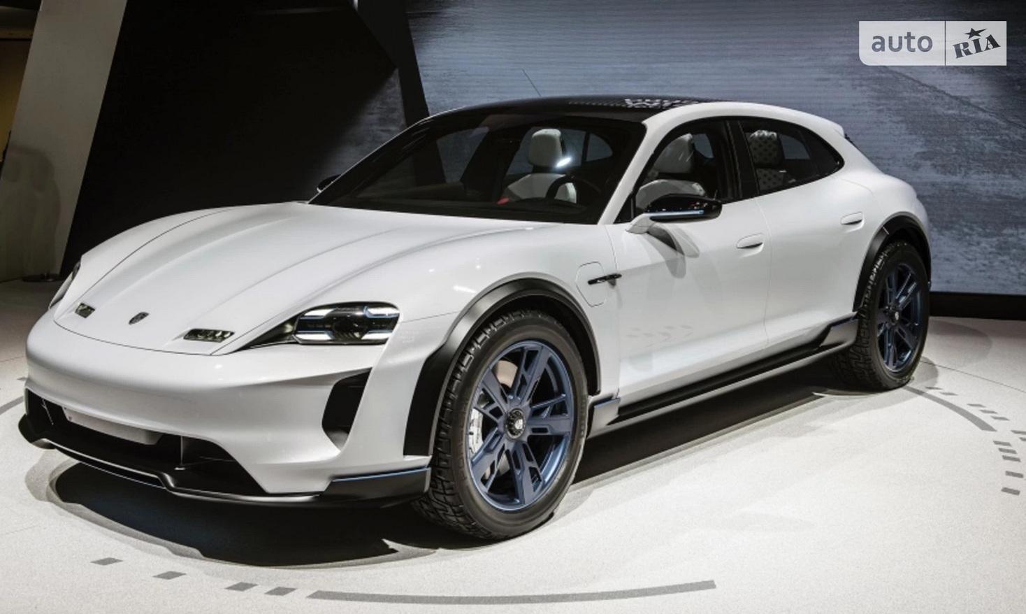 В Украине продают еще не вышедший электрокроссовер Porsche