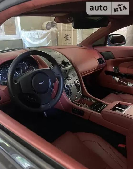 В Украине продают редчайший суперкар Aston Martin