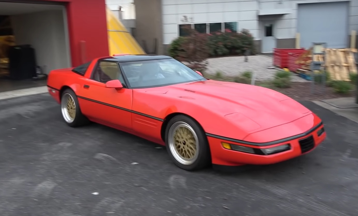 Обнаружен самый невероятный Chevrolet Corvette в истории