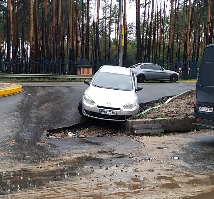 Где в Украине происходят самые курьезные ДТП (фото)
