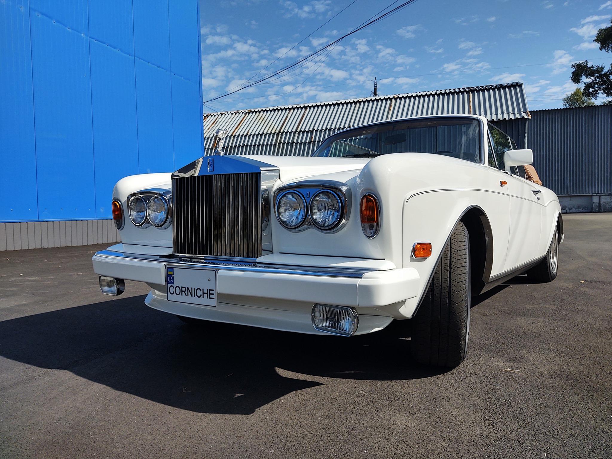 Украинцы вернули к жизни редчайший кабриолет Rolls-Royce