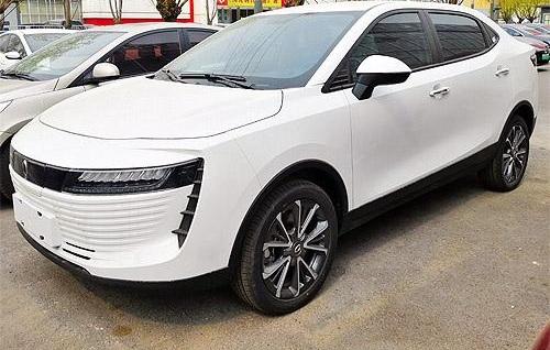 В Украине заметили очень необычный китайский электромобиль