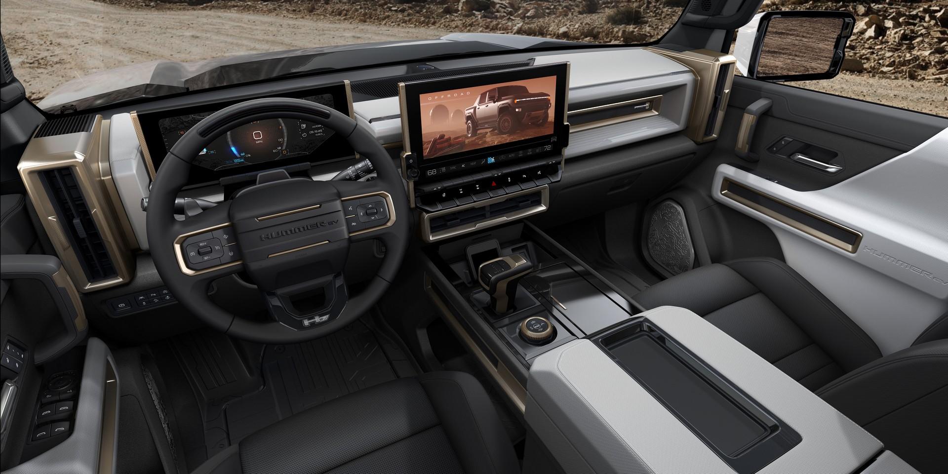 Первый электромобиль Hummer бросил вызов пикапу Tesla Cybertruck