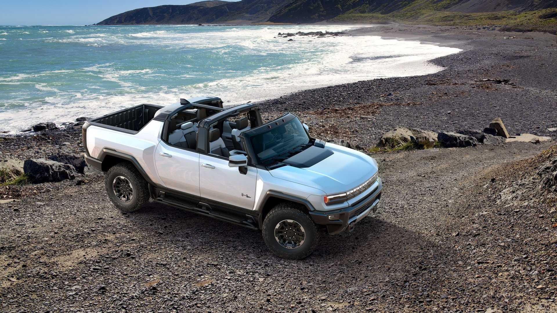 Обзор новейшего электромобиля GMC Hummer EV (видео)