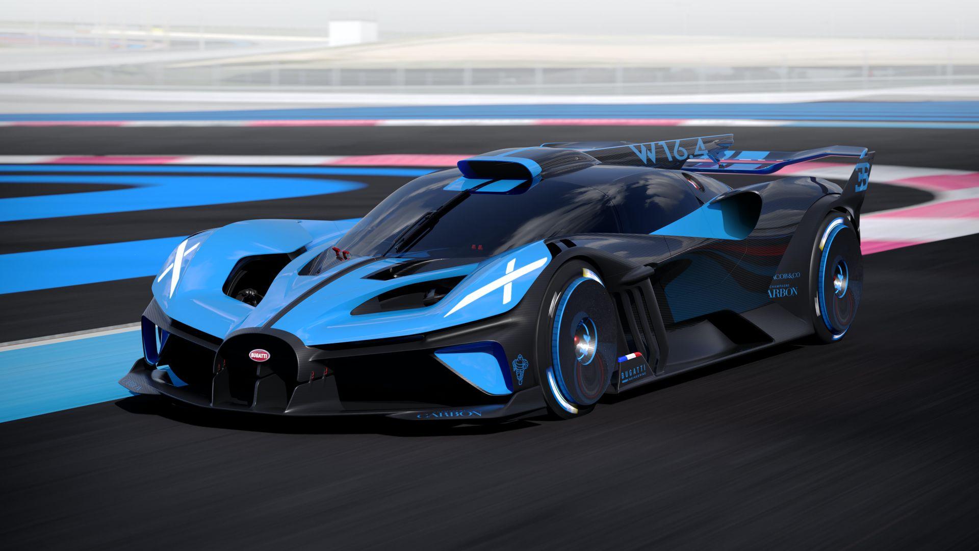 Рассекречен самый быстрый и самый невероятный гиперкар Bugatti