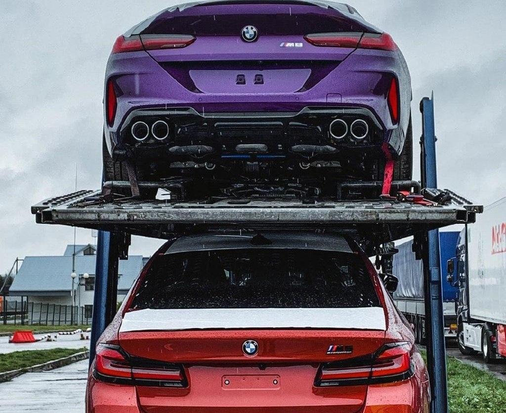 В Украину привезли новейшие заряженные BMW