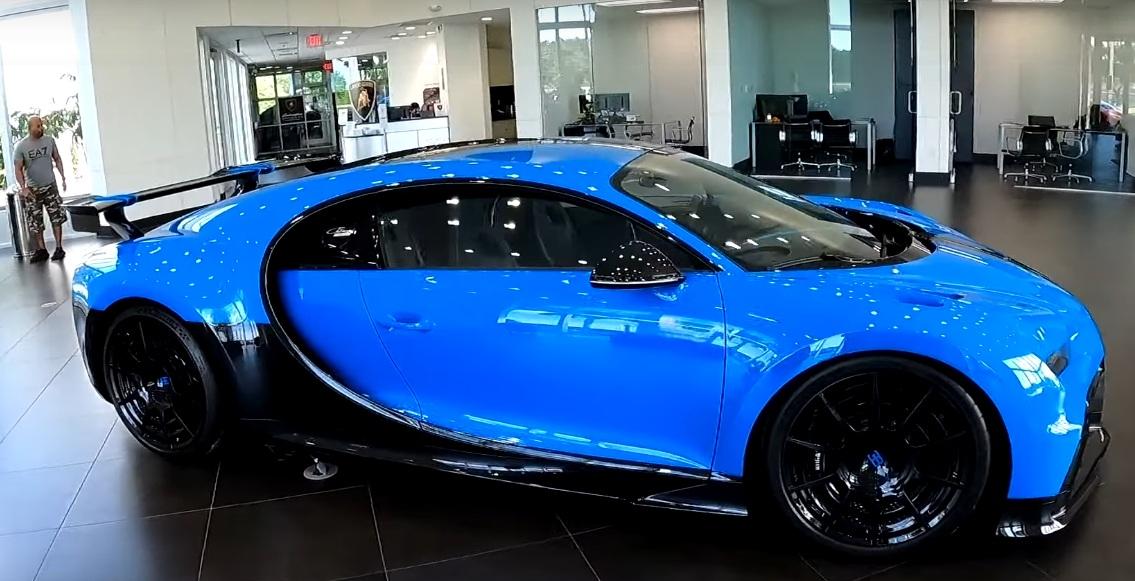 Сколько стоит аренда гиперкара Bugatti Chiron
