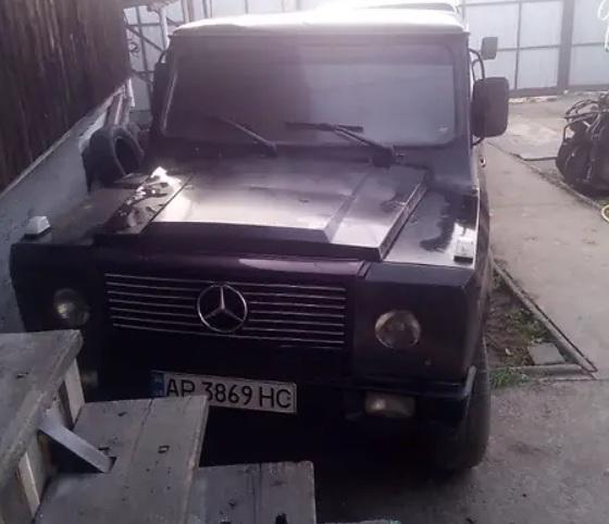 В Украине обнаружен оригинальный клон Гелендвагена