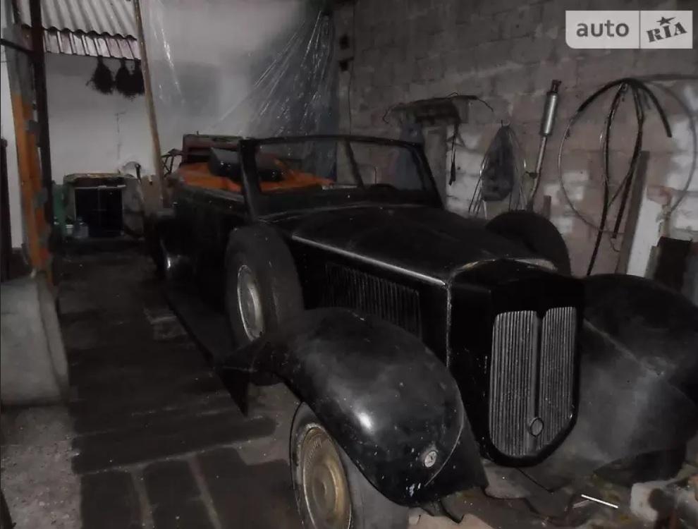 Украинец продает редчайший довоенный немецкий авто