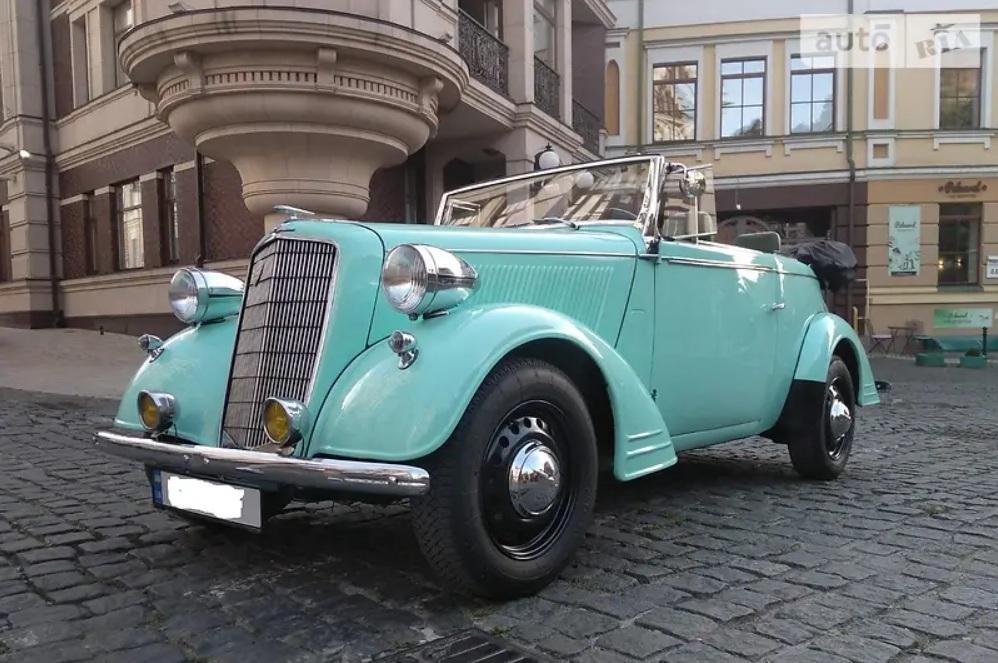 В Украине выставлен на продажу редчайший 85-летний спорткар Opel