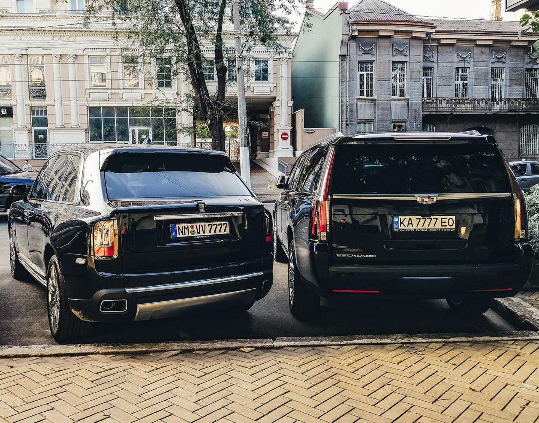 Как выглядит самый роскошный авто на еврономерах в Украине