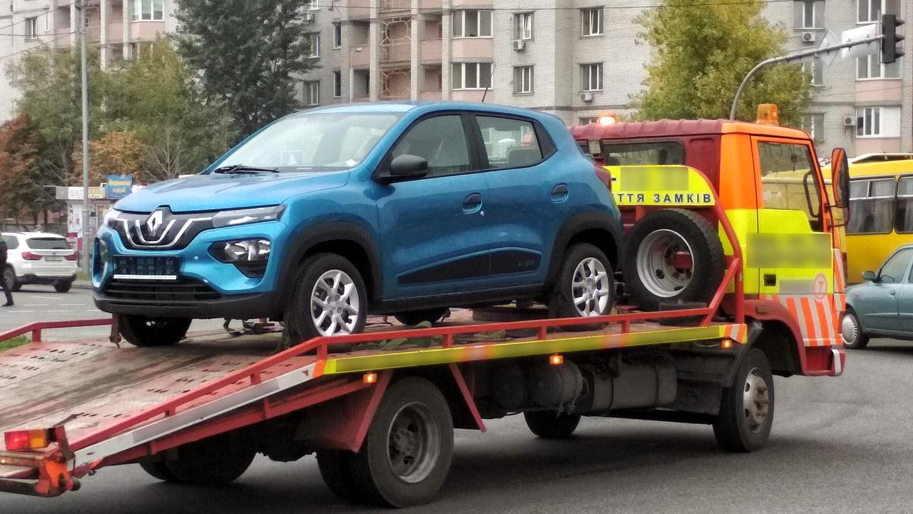 В Украине появился недорогой электрокроссовер Renault по цене Дастера |  ТопЖыр