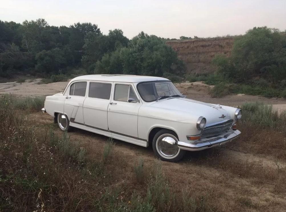 Обнаружен уникальный лимузин Волга ГАЗ-21