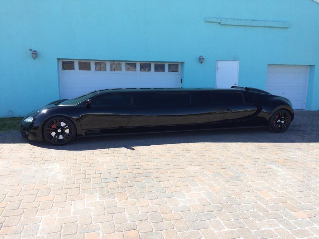Обнаружен невероятный лимузин Bugatti