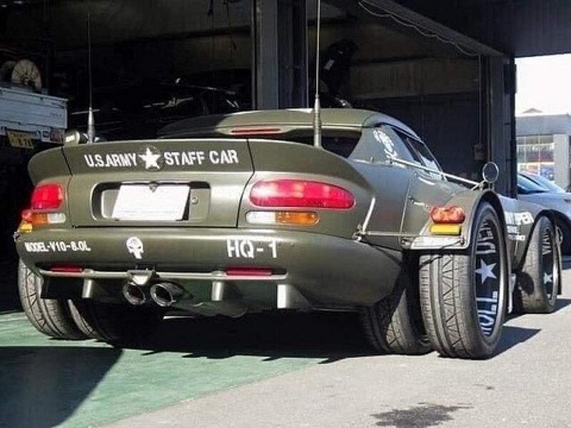 В Японии сделали самый эпатажный тюнинг спорткара (фото)