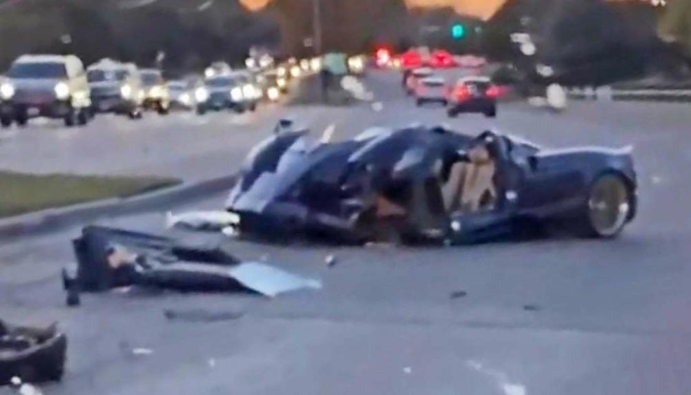 Подросток разбил редчайший итальянский суперкар за $3 миллиона (видео)