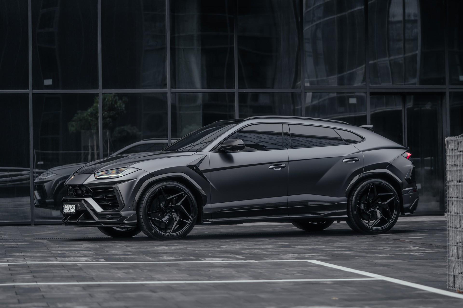В Украине заметили крутой тюнингованный Lamborghini
