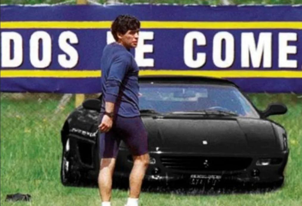 Какими авто владел легендарный футболист Диего Марадона