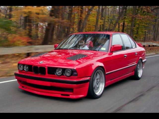 Тюнинг Е34: фото самых лаконичных и смелых проектов BMW 5