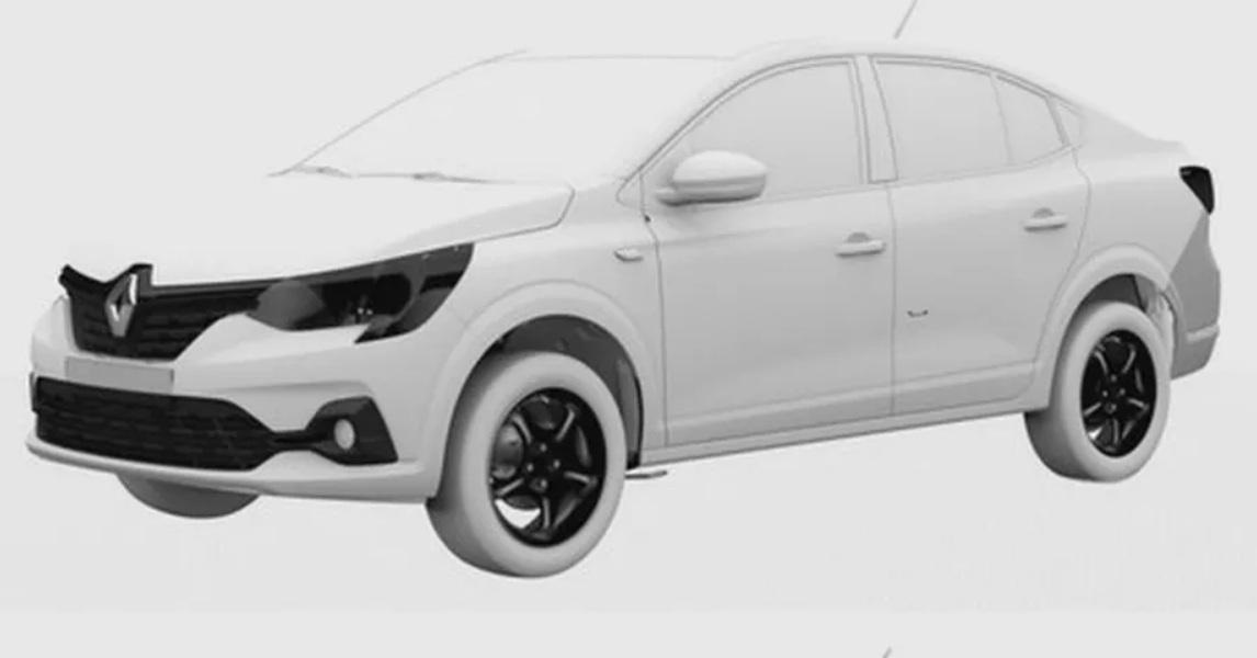 Новый Renault Logan для Украины рассекречен на первых изображениях