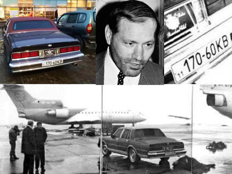 В Киеве засняли уникальный автомобиль первого олигарха Украины Евгения Щербаня (ФОТО)