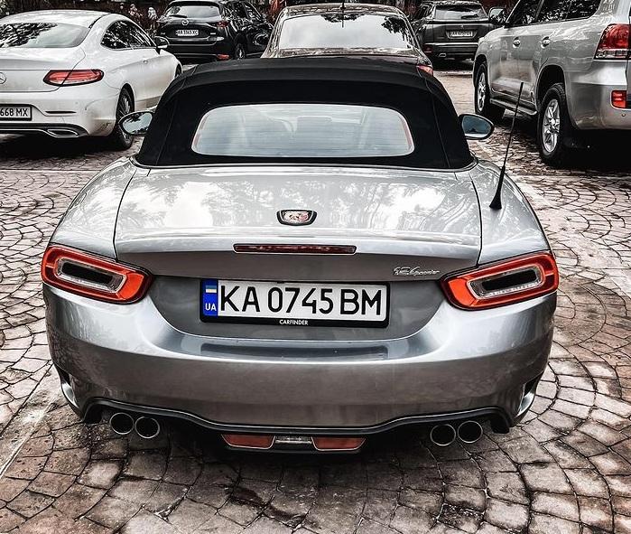 В Украине заметили редкий итальянский спорткар