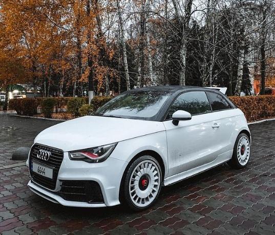 В Украине замечен самый редкий Audi современности