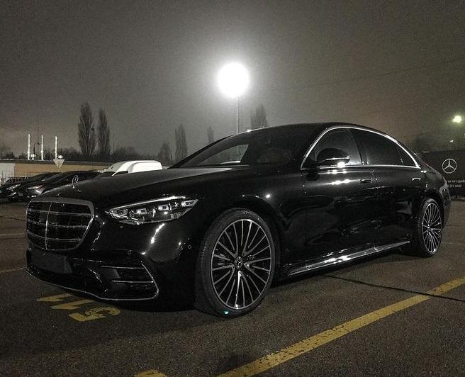 В Украине засняли новейший Mercedes S-Class 2021