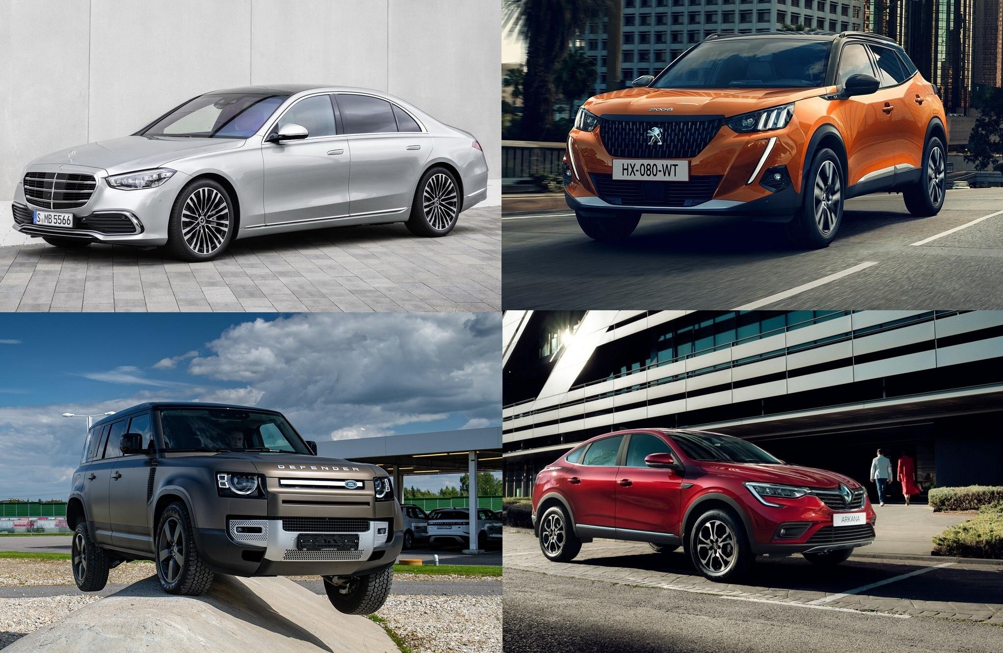 Какие новые модели авто представили в Украине за 2020 год