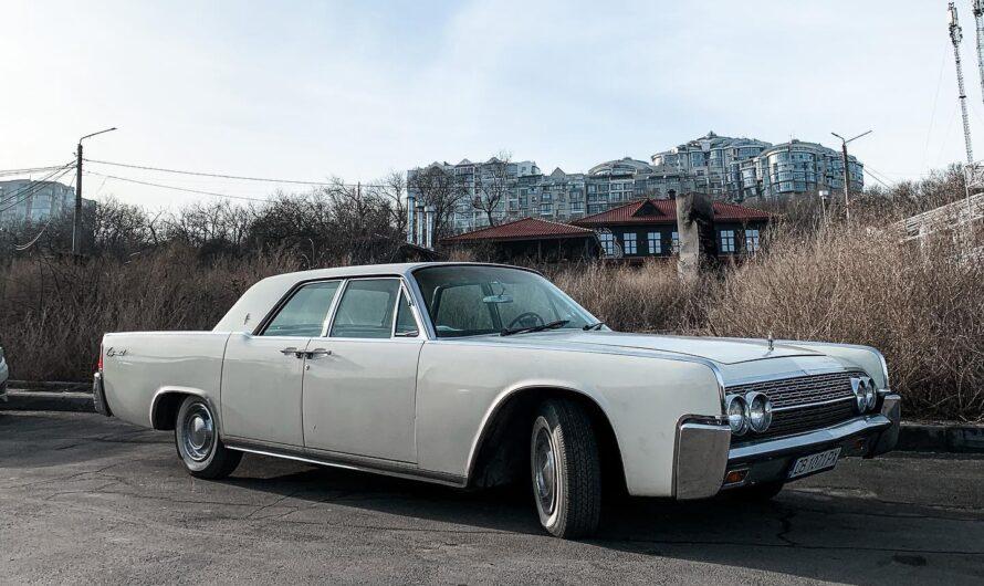 В Украине заметили самый роскошный американский авто 60-х