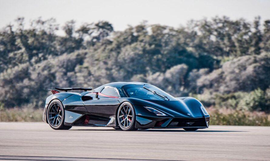 Гиперкар SSC Tuatara установил новый рекорд скорости для дорожных машин