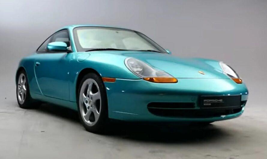 Обнаружен уникальный бронированный Porsche 911, о котором никто не знал