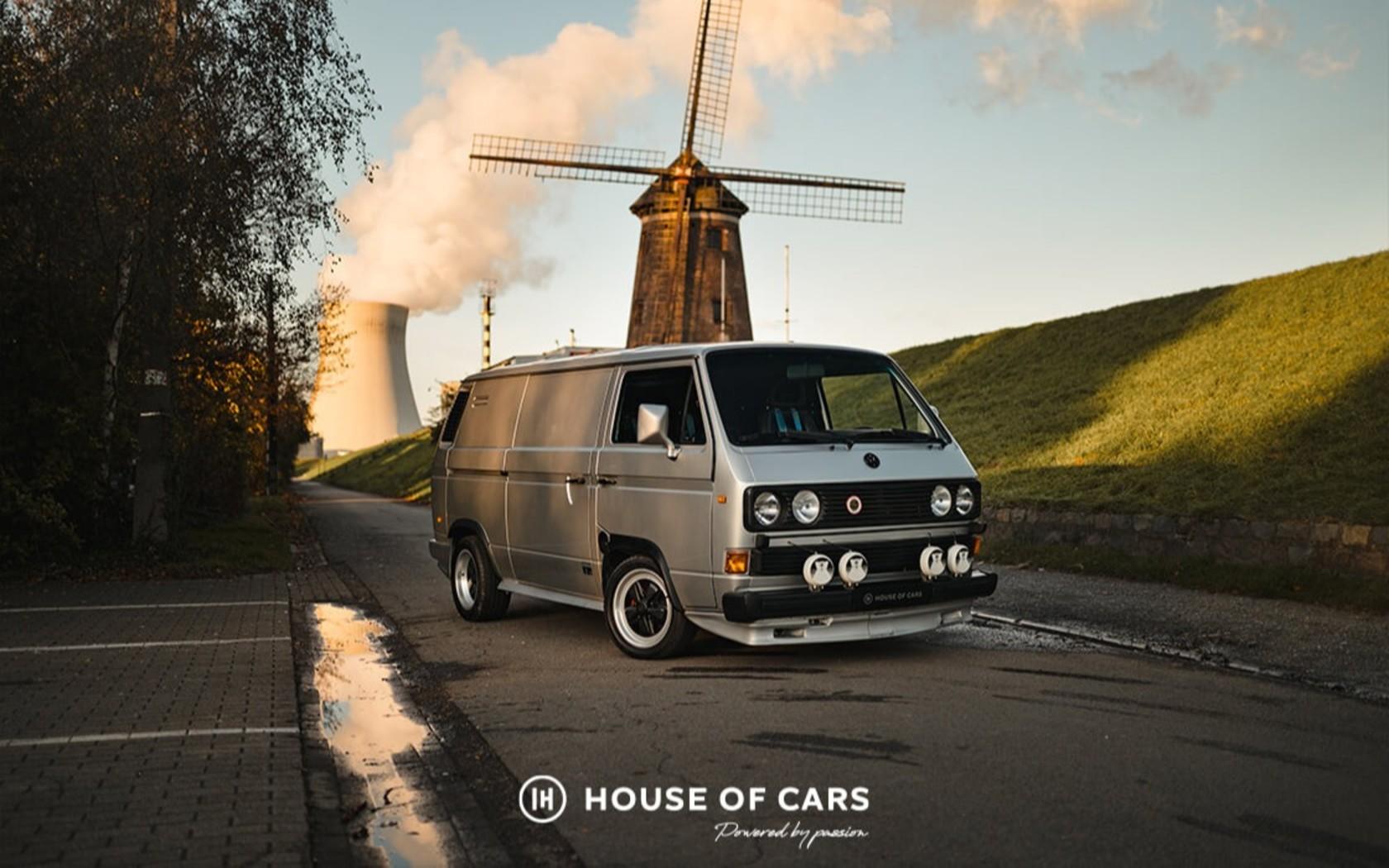 Самый невероятный Volkswagen T3 продают по цене нового Туарега